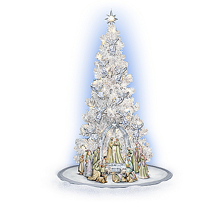 Nativity Christmas Tree Collection: Heavenly Blessings
