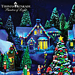 Thomas Kinkade Black Light Artist Select Village Collection