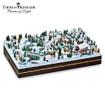 Christmas Village Collectibles Thomas Kinkade Village Christmas Miniatures Collection