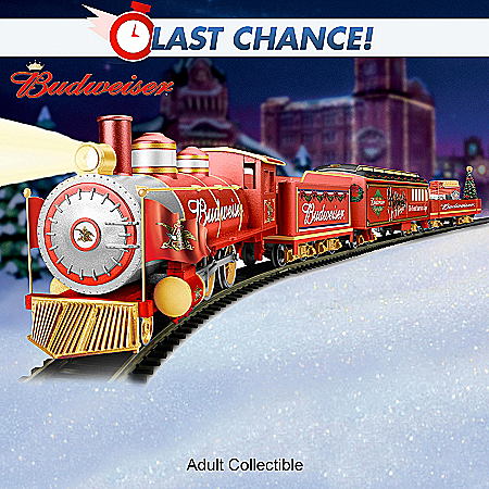 TrainBudweiser Holiday Express Train Collection