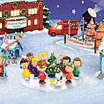 Christmas Village Collectibles PEANUTS Charlie Brown Christmas Village Collection