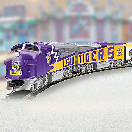 Louisiana State University Tigers Express Train Collection
