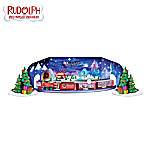 Rudolphs Black Light Express Train Collection