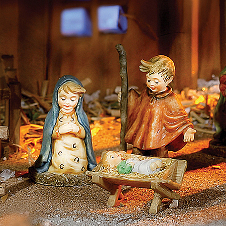 Christmas Nativity Sets M.I. Hummel Night Of Wonder Nativity Collection