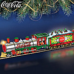 COCA COLA Light The Holidays Train Collection