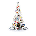 Backyard Splendor Songbird Christmas Tree With Sculptures Collection