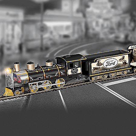 Hawthorne Village Ford Electric Train A Century Of Innovation Express