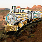 Hawthorne Village Silver Edition Train Collection: The Spirit Of The West Express