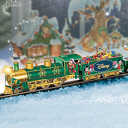 TrainDisney Holiday Celebration Express Train Collection
