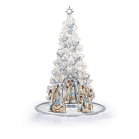 Christmas Tree Nativity Collection: The Ebony Elegance
