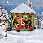 Thomas Kinkade Holiday Open House Rotating Village Collection