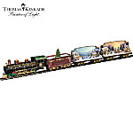 Thomas Kinkade Village Christmas Express Train Collection