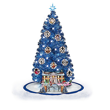 Tree: Elvis Presley Happy Holidays From Graceland Christmas Tree Collection