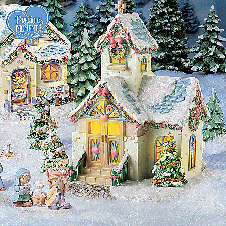 Christmas Village Collectibles Precious Moments Christmas Village Collection