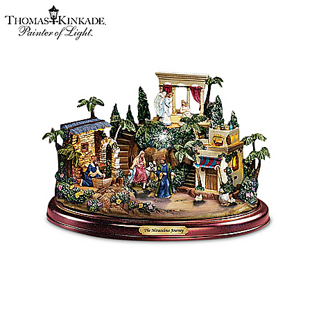 Nativity: Thomas Kinkade Glory To The Newborn King Nativity Collection