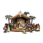 Nativities - Thomas Kinkade Magnificent Blessings Nativity Collection