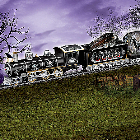 The Journey Of Doom Express Gothic Electric Train Collection