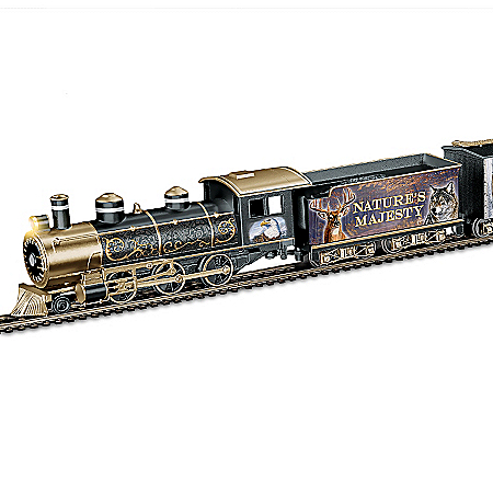 Al Agnew Nature's Majesty Express Train Collection
