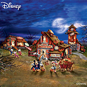 Disney Halloween Harvest Village Collection