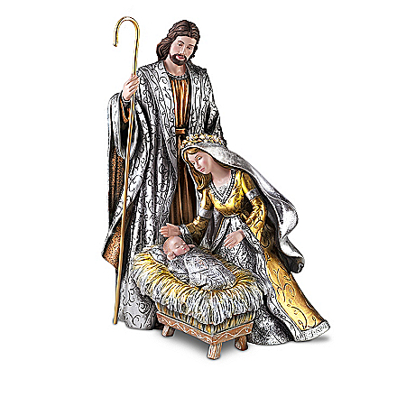 Christmas Nativity Sets Gilded Glory Nativity Collection