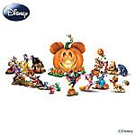 Disney Halloween Pumpkin Sculpture Collection