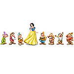 Hand-Painted Disney Snow White And The Seven Dwarfs Figurine Collection