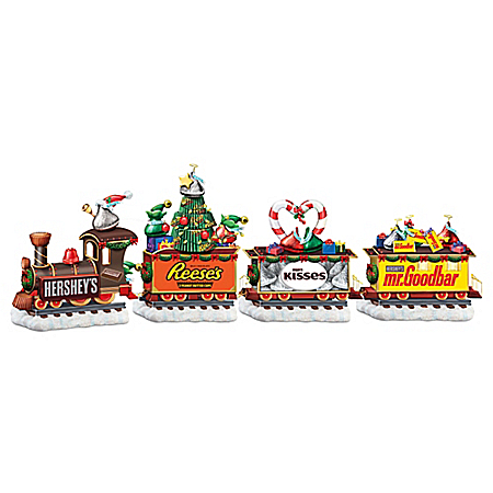 Hershey Christmas Express Train Figurine Collection