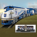 Hawthorne Village Kansas City Royals World Series Champions Electric Train Collection