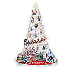 Rudolph Christmas Tree Collection - 3-Foot Pre-Lit Tree With Ornaments And Figurines
