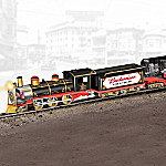 Hawthorne Village Budweiser Delivers Through The Years Express Steam Locomotive Train Collection
