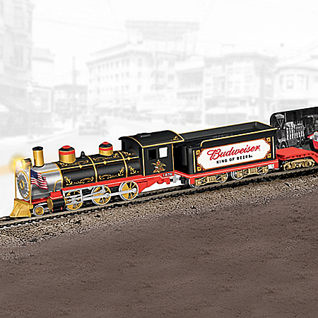 Budweiser Delivers Through The Years Express Steam Locomotive Train Collection