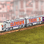 Clemson Tigers Football Express Diesel Locomotive Train Collection