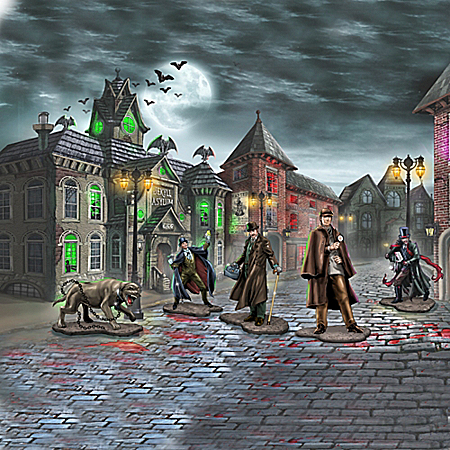 The Sherlock Holmes Village Of Mysteries Village Collection