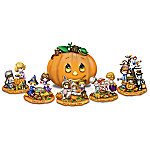 Precious Moments Halloween Trick Or Treat Sculpture Collection