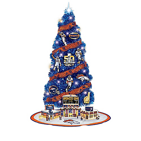 Denver Broncos Christmas Tree Collection