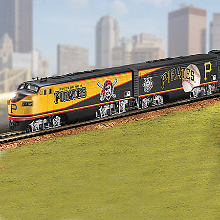 Hawthorne Village Pittsburgh Pirates Express Electric Train