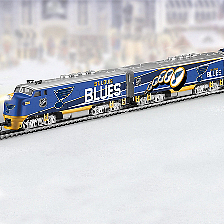 St. Louis Blues® 2019 Stanley Cup® Illuminated Train
