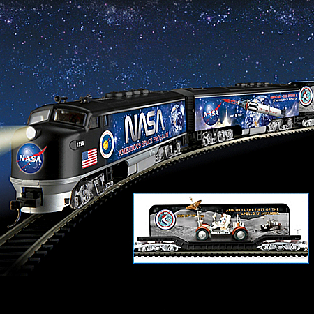 NASA Space Race Express Electric Train Collection