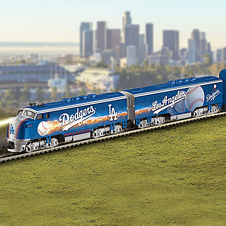 Los Angeles Dodgers MLB Express Electric Train Collection