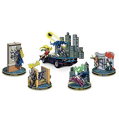 The Adventures Of BATMAN & ROBIN Handcrafted Figurine Collection