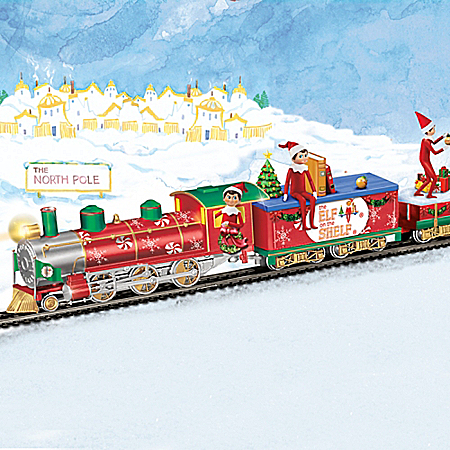 The Elf On The Shelf Express Christmas Electric Train Collection