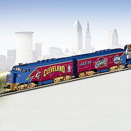 Cleveland Cavaliers Express Train Collection