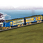 Hawthorne Village Golden State Warriors 2017 NBA Finals Championship Commemorative Express Train Collection