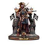 Disney Pirates Of The Caribbean Captains Masterpiece Handcrafted Sculpture Collection