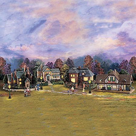 Thomas Kinkade Lamplight Village Collection