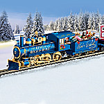 Elvis Presley Taking Care Of CHRISTMAS Illuminated Express Electric Train Collection