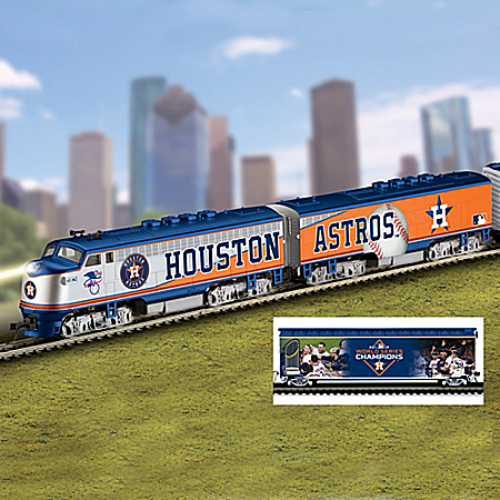 Houston Astros MLB Express Electric Train Collection