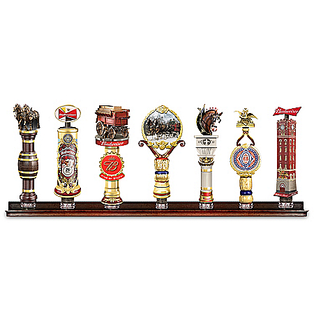 Budweiser Heirloom Vintage-Style Sculpted Tap Handle Collection