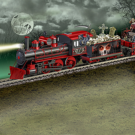 The Horror Express Glow-In-The-Dark Train Collection