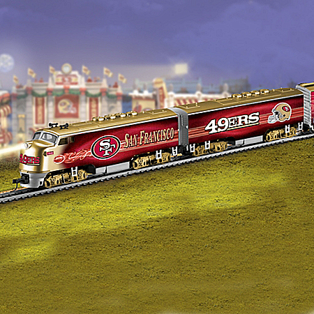 San Francisco 49ers Express NFL Electric Train Collection